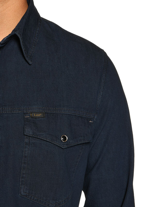 Regular-Fit Denim Shirt