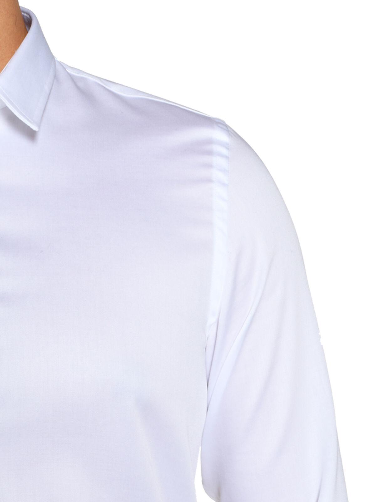 Slim-Fit Cuffed Shirt